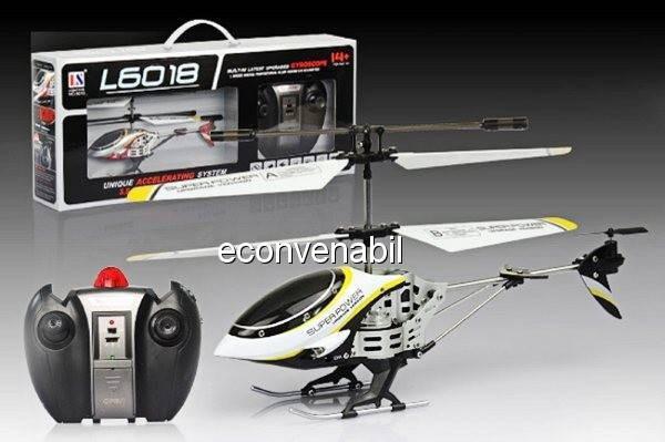 Elicopter cu gyro model l6018 foto mare