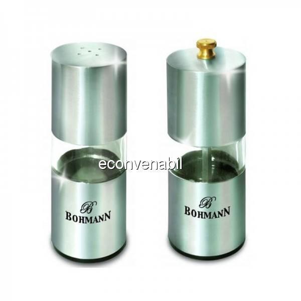 Set condimente sare si piper Bohmann BH7810 foto mare