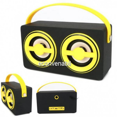 Boxa Portabila cu Bluetooth, Radio FM, USB si SD Card KTS689F foto