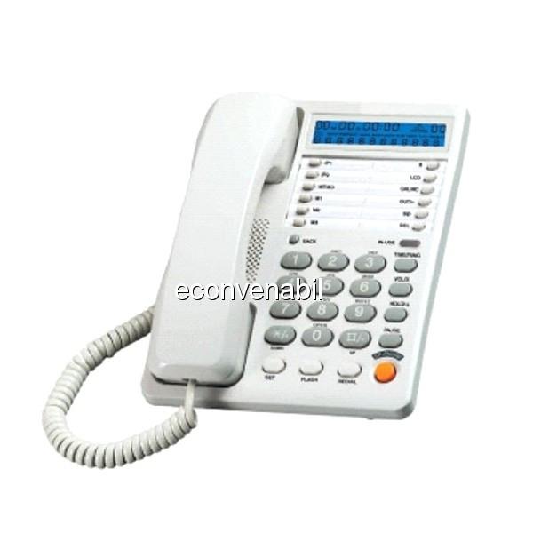 Telefon Fix Panatel KXTSC6004CID cu Afisare ID Apelant foto mare