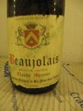 N. 107  beaujolais, claude mercier, appellation contolee, rec. 1966, cl 75 gr 12, Sec, Rosu, Europa