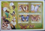 NIGER - FLUTURI, 1999,  1 M/SH,  NEOB.  -  E6003, Fauna
