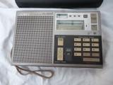 Radio Sony ICF-7600D cu husa originala