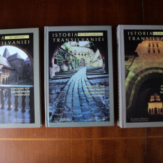 Istoria Transilvaniei (3 vol.) / Ioan-Aurel Pop, Thomas Nägler, Magyari András - Istorie