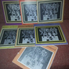 Lot 7 LP Zeno Vancea-Istoria Muzicii Universale 23/20/19/17/14/4/3 vinil vinyl - Muzica Clasica electrecord