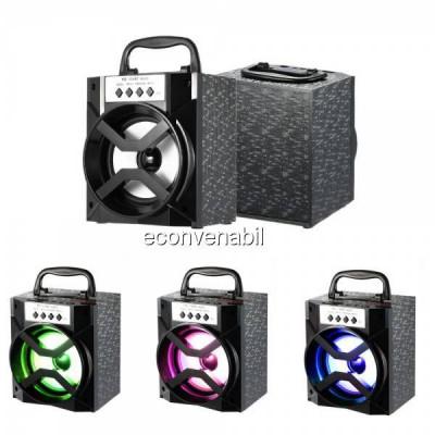 Boxa Portabila cu Bluetooth, Radio FM si USB MP3 10W MS134BT foto