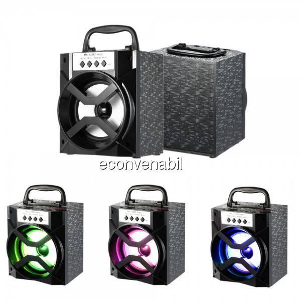 Boxa Portabila cu Bluetooth, Radio FM si USB MP3 10W MS134BT foto mare