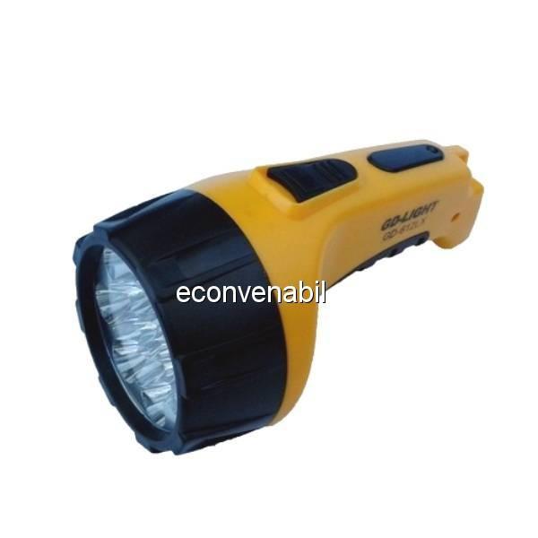 Lanterna reincarcabila cu 15 LEDuri GdLite GD612LX foto mare