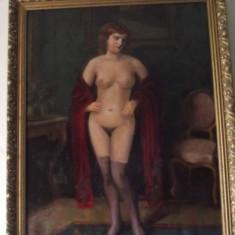 tablou nud scoala maghiara