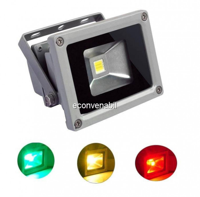 Proiector LED RGB Color 10W foto mare