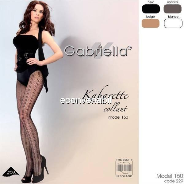 Dresuri Gabriella Kabarette Collant 150 Cod 229 foto mare
