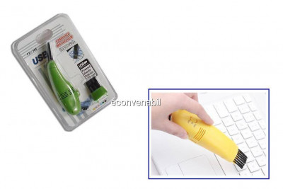Mini aspirator pentru tastatura conectare usb foto