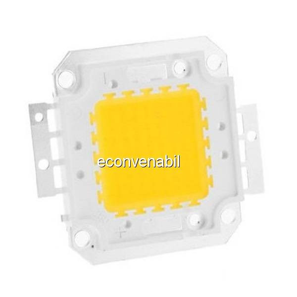 Modul COB LED 70W Alb Cald pentru Proiector LED foto mare