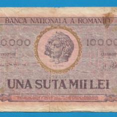 100000 lei 1947 2 - Bancnota romaneasca