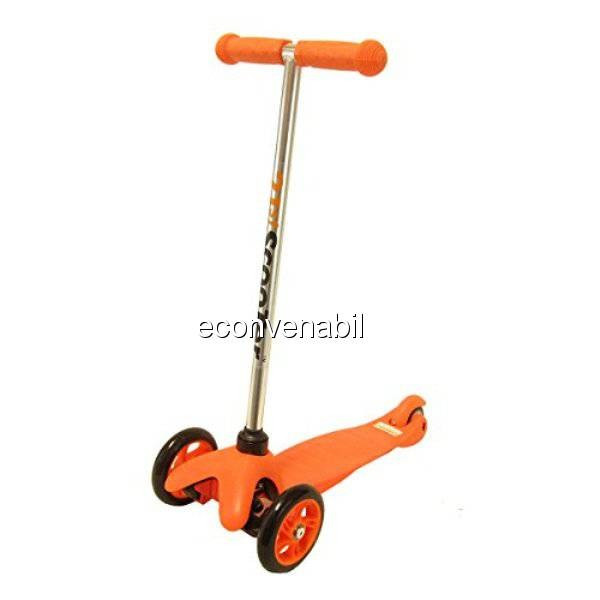 Trotineta Copii cu Roti din Silicon 201314 21ST Scooter Orange foto mare