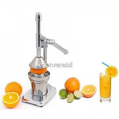 Storcator fructe presa manuala de citrice din inox Hausberg HB3327 foto