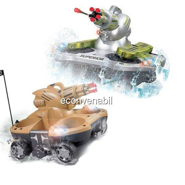Tanc Amfibiu cu Telecomanda Amphibious Chariot foto mare