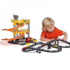 Jucarie parcare supraetajata cu 3 niveluri + pista + 5 masini - Masinuta electrica copii