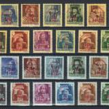 Ungaria 1945 - Eliberarea, serie neuzata supr. MNH