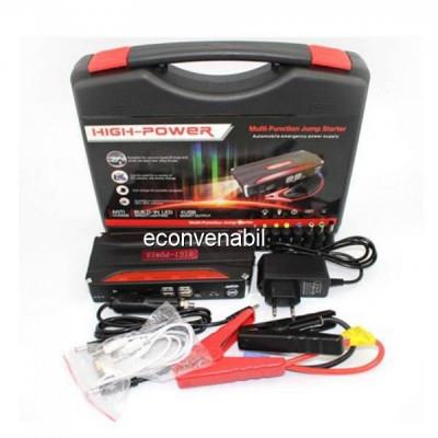 Kit Jump Starter Acumulator extern 16800mAh Pornire Auto TM18B foto