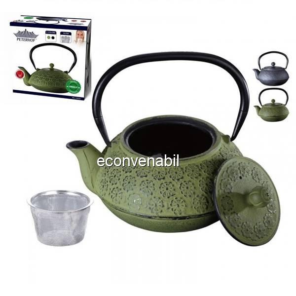 Ceainic din fonta emailata Peterhof PH15624 900ml foto mare