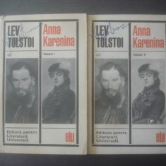 LEV TOLSTOI - ANNA KARENINA (VOL. I ȘI II)