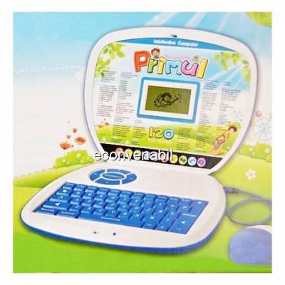 Laptop Bilingv Copii Romana Engleza Primul meu Calculator 120 Functii foto