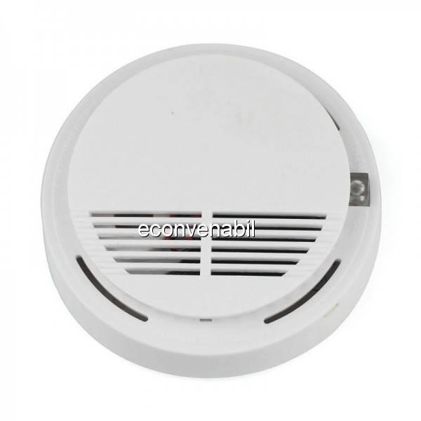 Detector de Fum cu Alarma Acustica SS168 foto mare