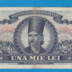 1000 lei 1948 14 - Bancnota romaneasca