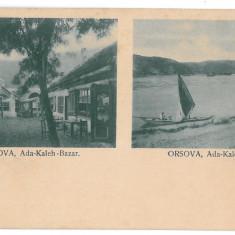 3890 - Litho, ORSOVA, ADA-KALEH - old postcard - unused - Carte Postala Oltenia 1904-1918, Necirculata, Printata
