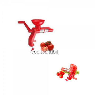 Storcator rosii manual Ertone MN503 10Kg/h cu Separator Seminte foto