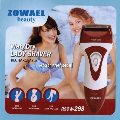 Zowael trimmer epilator cu acumulator rscw298 foto