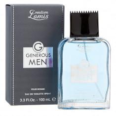 Parfum Creation Lamis Generous Men  100ml edt, Apa de toaleta, 100 ml