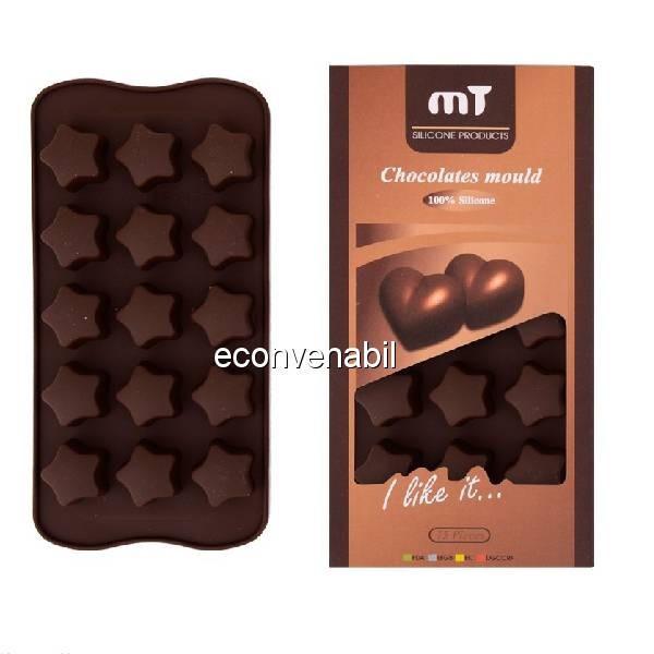 Forme din silicon ciocolata DeKassa DK89014 foto mare