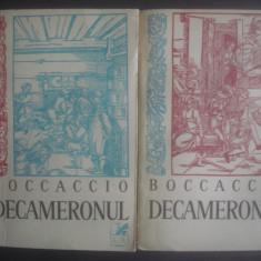 GIOVANNI BOCCACCIO - DECAMERONUL (VOL. I ȘI II) - Roman