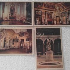 Chateau De Versailles, lot de 4 buc - necirculate, Necirculata, Printata