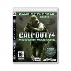 Joc consola Activision Call of Duty 4 Modern Warfare PS3