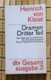 H. von Kleist DRAMEN editie critica in germana