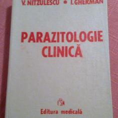 Parazitologie Clinica - V. Nitzulescu, I. Gherman - Carte Boli infectioase