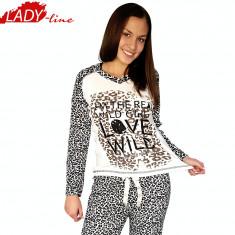 Pijama Dama MAneca/Pantalon Lung, Model Wild Girl, Baki Collection, Cod 963