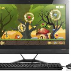 Sistem All in One Lenovo IdeaCentre 300-23ISU 23 inch FHD Intel Core i5-6200U 4GB DDR4 1TB HDD Black