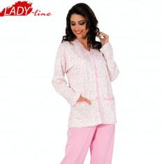 Pijama Dama Cu Nasturi, Model Beauty, Brand Aydogan, Bumbac, Cod 847