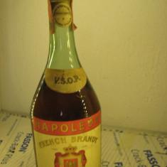 Brandy, NAPOLEON FRENCH, Jules Bouchard, vsop, FRANCE CL75 gr 40 ani 1960/70 - Cognac