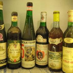6 sticle mare vin ALB, ITALY, lot (35) recoltare 1969/69/73/75/77/81 - Vinde Colectie, Aroma: Sec, Zona: Europa