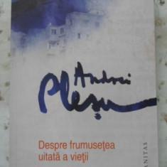 Despre Frumusetea Uitata A Vietii - Andrei Plesu, 400465 - Filosofie