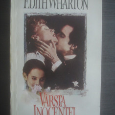 EDITH WHARTON - VÂRSTA INOCENȚEI