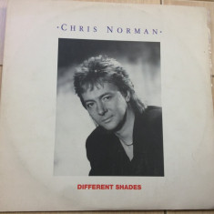 Chris norman Different Shades album 1987 disc vinyl lp muzica pop rock balkanton, VINIL