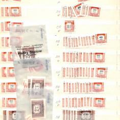 Lot timbre Ungaria - Porto, 12 poze, Nestampilat