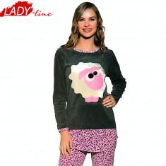 Pijama Dama Calduroasa din Catifea si Bumbac, Calitate Premium, Cod 732