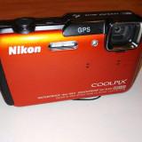 Nikon Cooplix Waterproof AW10 - Aparat Foto compact Nikon